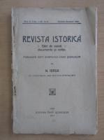 Anticariat: Nicolae Iorga - Revista Istorica, anul II, nr. 10-12, octombrie-decembrie 1916