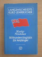 Anticariat: Paul Hartig - 30 Stunden Englisch fur Anfanger