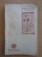 Anticariat: Remus Ilie - Manual de istorie. Evul Antic, clasa I-a secundara