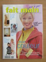 Revista Fait Main Pas a Pas, nr. 229, februarie 2001