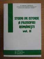 Anticariat: Studii de istorie a filosofiei romanesti (volumul 2)