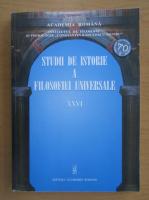 Anticariat: Studii de istorie a filozofiei universale (volumul 26)