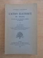 A. Nodon - L'action electrique du Soleil