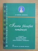 Alexandru Surdu - Istoria filosofiei romanesti