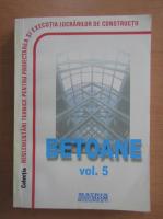 Anticariat: Betoane, volumul 5