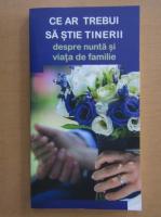 Anticariat: Ce ar trebui sa stie tinerii despre nunta si viata de familie