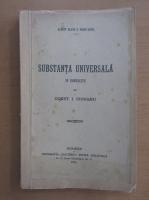 Anticariat: Const. I. Cioranu - Substanta universala