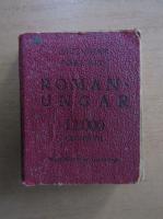 Anticariat: Dictionar portativ roman-ungar. 12000 cuvinte (format liliput)