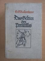 Anticariat: Erwin Guido Kolbenheyer - Das Gestrin des Paracelsus