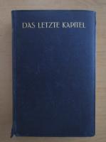 Knut Hamsun - Das letzte Kapitel