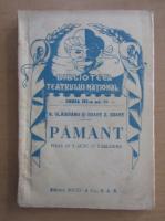 N. Vladoianu - Pamant. Piesa in 3 acte