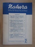 Revista Natura, nr. 2, septembrie-octombrie 1949