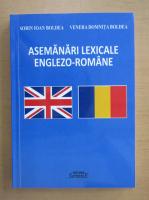 Anticariat: Sorin Ioan Boldea - Asemanari lexicale englezo-romane
