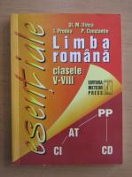 Stefan M. Ilinca - Limba romana. Clasele V-VIII