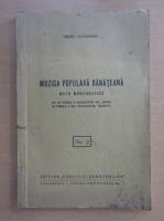 Anticariat: Tiberiu Alexandru - Muzica populara banateana