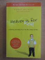Anticariat: Todd Burpo - Heaven is for Real