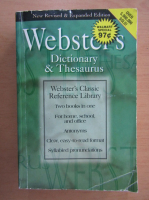 Webster's Dictionary and Thesaurus