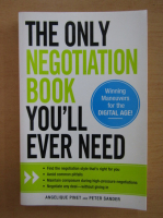 Anticariat: Angelique Pinet - The Only Negotiation Book You'll Ever Need