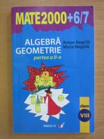 Anticariat: Anton Negrila - Algebra, geometrie. Clasa a VIII-a, partea a II-a