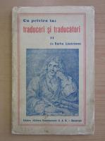 Anticariat: Barbu Lazareanu - Cu privire la traduceri si traducatori (volumul 2)
