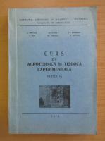 Anticariat: C. Pintilie - Curs de agrotehnica si tehnica experimentala