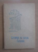 Anticariat: Cetatea de Scaun, Suceava