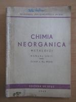 Anticariat: Chimia neorganica. Metaloizi