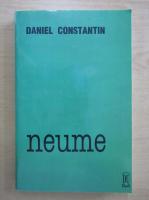 Anticariat: Constantin Daniel - Neume