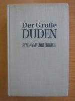 Anticariat: Der Grosse Duden, volumul 8. Vergleichendes Synonymworterbuch
