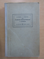 Anticariat: E. Borel - Die elemente der mathematik, volumul 2. Geometrie