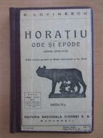 E. Lovinescu - Horatiu. Ode si epode