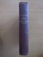 Ernest Lichtenberger - Etude sur les poesies lyriques de Goethe