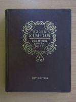 Anticariat: Eugen Simion - Scriitori romani de azi (volumul 1)