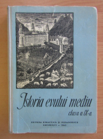 Anticariat: Francisc Pall - Istoria Evului Mediu. Manual pentru clasa a IX-a