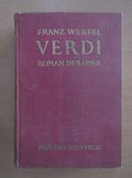 Franz Werfel - Verdi. Roman der Oper