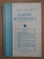 Anticariat: Gazeta Matematica, anul LXXXIX, nr. 8, 1984