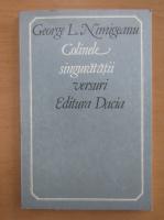 Anticariat: George L. Nimigeanu - Colinele singuratatii