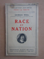 Georges Weill - Race et Nation