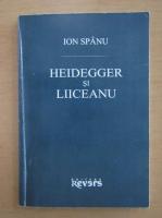 Anticariat: Ion Spanu - Heidegger si Liiceanu