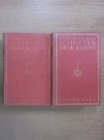 Konrad Fiedler - Schriften uber Kunst (2 volume)
