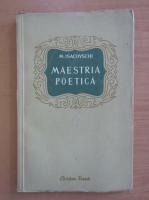 Anticariat: M. Isacovschi - Maestria poetica
