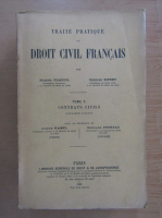 Anticariat: Marcel Planiol - Traite Pratique de Droit Civil Francais (volumul 10)