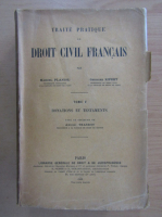 Anticariat: Marcel Planiol - Traite Pratique de Droit Civil Francais (volumul 5)