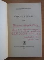 Niculae Franculescu - Vaduvele negre (cu autograful autorului)