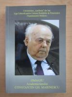 Anticariat: Omagiu academicianului Constantin Gh. Marinescu
