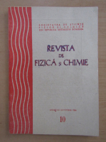 Anticariat: Revista de fizica si chimie, anul XXI, nr. 10, octombrie 1984