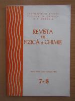 Revista de fizica si chimie, anul XXVII, nr. 7-8, iulie-august 1990