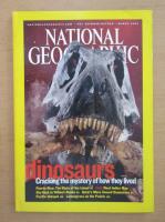 Revista National Geographic, martie 2003