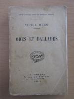 Anticariat: Victor Hugo - Odes et ballades