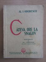 Anticariat: Al. I. Odobescu - Cateva ore la Snagov